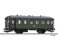 модель Tillig 74802 Пассажирский вагон 2 класса, тип Bip (ex BCi 34). Принадлежность DR. Эпоха III