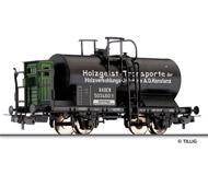 """модель Tillig 76554 Цистерна с тормозной будкой """"Holzverkohlungs-Industrie Konstanz"""". Принадлежность Baden. Эпоха I"""