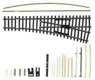 модель Tillig 83410 IBW LH радиусная стрелка, Bausatz, левая. Совместима с приводами 83512 и 86110