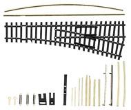 модель Tillig 83420 IBW LH гибкая радиусная стрелка 15 градусов, набор для сборки. Совместима с приводом 1х 86110