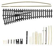 модель Tillig 83430 EW 1 LH стрелка 15 градусов, BS, левая, kit. Совместима с приводами 83512 и 86110
