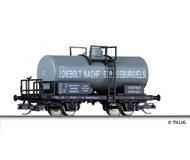 """модель Tillig 95828 Цистерна с тормозной площадкой """"J. Diebolt Nachf. """". Принадлежность DRG. Эпоха II"""