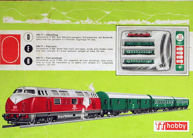 модель Train 18214-1