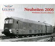 модель Железнодорожный Моделизм 10115-54 Каталог Liliput. Новинки 2006 года. Масштаб H0. 20 стр, на немецком языке.