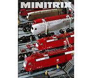 модель Железнодорожные модели 10119-54 Каталог Minitrix 1989/90 год. Масштаб N. 120 стр, на немецком языке.