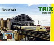 модель Железнодорожные модели 10120-54 Миникаталог Minitrix. Top zur Wet 2013 год. Масштаб N. 13 стр, на немецком языке.