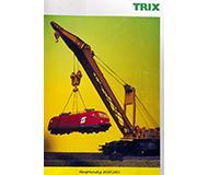 модель Железнодорожные модели 10122-54 Каталог Trix 2000/01 год. Масштабы H0, N. 258 стр, на немецком языке.