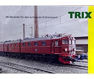 модель Железнодорожные модели 10131-54 Миникаталог Trix. Масштаб H0. 6 стр, на немецком языке.
