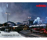 модель Железнодорожные модели 10142-54 Каталог Marklin 1998/99 год. Масштабы H0, N, Z, 1. 526 стр, на немецком языке.