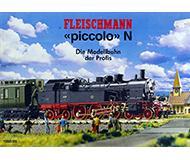 модель Horston 10154-54 Каталог Fleischmann 1988 год. Масштаб N. 60 стр, на немецком языке.