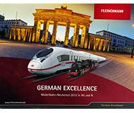модель Железнодорожный Моделизм 10160-54 Каталог Fleischmann. Новинки 2013 года. Масштабы H0, N. 84 стр, на немецком языке.