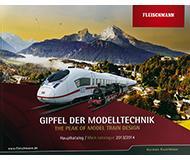 модель Железнодорожный Моделизм 10161-54 Каталог Fleischmann 2013/14 год. Масштабы H0, N. 90 стр, на немецком языке.