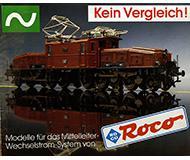 модель Железнодорожный Моделизм 10168-54 Каталог ROCO моделей переменного тока 1988 год. Масштаб H0. 12 стр, на немецком языке.