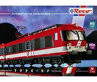 модель Железнодорожный Моделизм 10173-54 Каталог ROCO. Модели принадлежности OBB, Австрия. 1996/97 год. Масштабы H0, H0e, N. 24 стр, на немецком языке.