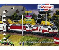 модель Железнодорожный Моделизм 10178-54 Каталог ROCO. Модели принадлежности OBB, Австрия. 1998/99 год. Масштабы H0, H0e, N, 0. 32 стр, на немецком языке.