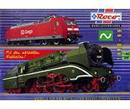 модель Железнодорожный Моделизм 10179-54 Каталог ROCO моделей переменного тока. 1998/99 год. Масштаб H0. 12 стр, на немецком языке.