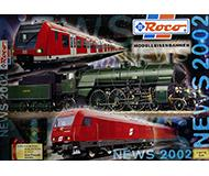 модель Железнодорожный Моделизм 10186-54 Каталог ROCO. Новинки 2002 года. Масштабы H0, N. 76 стр, на немецком языке.