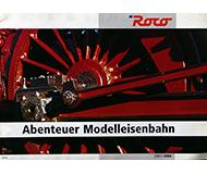 модель Horston 10191-54 Каталог ROCO. Новинки 2003/04 года. Масштабы H0, N. 28 стр, на немецком языке.
