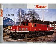 модель Horston 10195-54 Каталог ROCO International. Новинки 2005 года. Масштаб H0. 24 стр, на английском, немецком, французском языках.