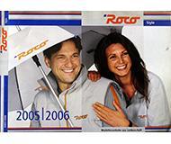 модель Horston 10197-54 Каталог ROCO Style. Каталог аксессуаров - футболки, зонты, рюкзаки и т.п. 2005/06 год. На английском, немецком, французском языках.