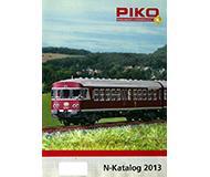 модель Железнодорожный Моделизм 10208-54 Каталог PIKO 2013 год. Масштаб N. 28 стр, на немецком языке.