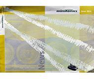 модель Horston 10213-54 Каталог ROCO Minitanks. Новинки 2004 года. Масштаб H0. 8 стр, на английском, немецком языках.