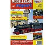 модель Железнодорожный Моделизм 10216-54 Журнал ROCO Modellbahn Report 1/02. 36 стр, на немецком языке.