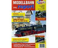 модель Железнодорожный Моделизм 10217-54 Журнал ROCO Modellbahn Report 1/02. 36 стр, на немецком языке.