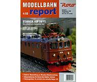 модель Железнодорожный Моделизм 10219-54 Журнал ROCO Modellbahn Report 4/03. 36 стр, на немецком языке.