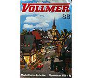 модель Horston 10221-54 Каталог Vollmer. Новинки 1988 года. Масштабы H0, N. 8 стр, на английском, немецком, французском языках.
