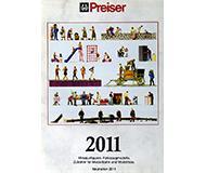модель Horston 10223-54 Каталог Preiser. Новинки 2011 года. Масштабы H0, 1:45, 1:22,5. 16 стр, на английском, немецком языках.