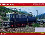 модель Железнодорожный Моделизм 10228-54 Каталог Rivarossi. Новинки 2013 года. Масштаб H0. 8 стр, на немецком языке.