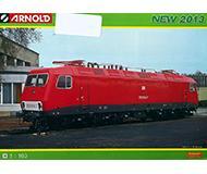 модель Железнодорожный Моделизм 10233-54 Каталог Arnold. Новинки 2013 года. Масштаб N. 8 стр, на немецком языке.