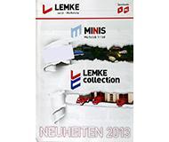 модель Horston 10235-54 Каталог Lemke. Новинки Minis и Lemke 2013 года. Масштабы H0, N. 8 стр, на немецком языке.