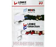 модель Железнодорожный Моделизм 10235-54 Каталог Lemke. Новинки Minis и Lemke 2013 года. Масштабы H0, N. 8 стр, на немецком языке.