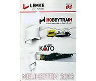 модель Железнодорожный Моделизм 10236-54 Каталог Lemke. Новинки Hobbytrain и KATO 2013 года. Масштабы H0, N. 20 стр, на немецком языке.