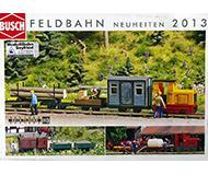 модель Железнодорожный Моделизм 10239-54 Каталог Busch Feldbahn. Новинки 2013 года. Масштаб H0. 4 стр, на немецком языке.