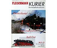 модель Horston 10244-54 Журнал Fleischmann Kurier Die Modellbahnzeitschrift 2001#4 36 стр, на немецком языке.