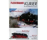 модель Железнодорожный Моделизм 10245-54 Журнал Fleischmann Kurier Die Modellbahnzeitschrift 2001#4 36 стр, на немецком языке.