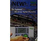 модель Железнодорожный Моделизм 10246-54 Журнал Trix Club News 2005#3 20 стр, на немецком языке.
