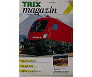 модель Железнодорожный Моделизм 10247-54 Журнал Trix Magazin 2000#2, 24 стр, на немецком языке.