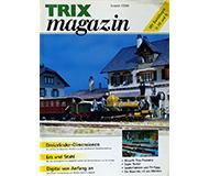 модель Железнодорожный Моделизм 10248-54 Журнал Trix Magazin 2000#1, 24 стр, на немецком языке.