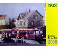 модель Железнодорожные модели 10250-54 Каталог TRIX. Новинки лета 2006 года. Масштабы H0, N. 16 стр, на немецком языке.
