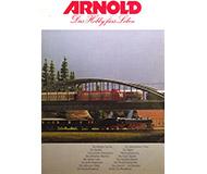 модель Железнодорожные модели 10330-54 Комиссионная модель. Старый рекламный каталог Arnold, масштаб N, 16 стр, на немецком языке.