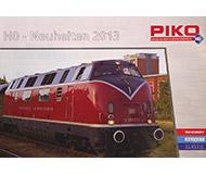 модель Железнодорожный Моделизм 10396-31 Комиссионная модель. Каталог PIKO. Новинки 2013 20 стр. На немецком языке.