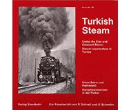 модель ZYX 10491-5 Комиссионная модель. Книга-фотоальбом Turkish Steam (Паровозы в Турции). 1976 год, 126 страниц, на немецком языке, фотографии ч/б.