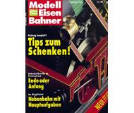 """модель Железнодорожный Моделизм 10769-53 Журнал """"Modell EisenBahner"""".  Номер 11 / 1990. На немецком языке."""