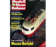 """модель Железнодорожный Моделизм 10770-53 Журнал """"Modell EisenBahner"""".  Номер 12 / 1990. На немецком языке."""