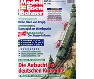 """модель Железнодорожный Моделизм 10771-53 Журнал """"Modell EisenBahner"""".  Номер 6 / 1997. На немецком языке."""