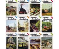 модель Horston 10792-53 Комиссионная модель. Журнал Der Modelleisbahner, 1986 г., номера 1-12. На немецком языке.